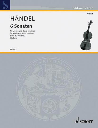 Händel, 6 Sonatas, Band 2