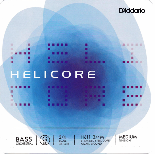 D' Addario Helicore Set H Solo - Double bass