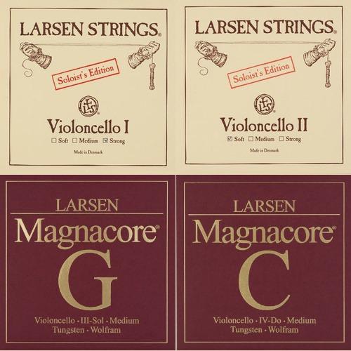 Larsen Soloist / Magnacore Set - cello