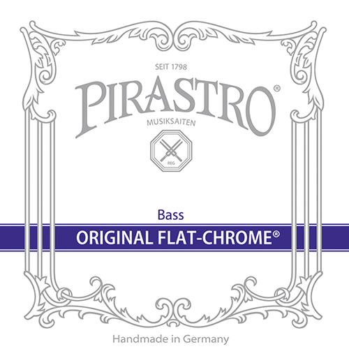 Pirastro Original Flat Chrome Set Double bass Orchestra
