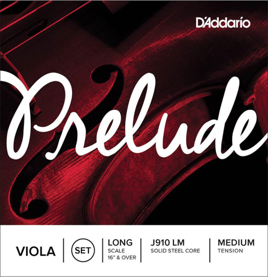 D' Addario Prelude Set Medium - Viola