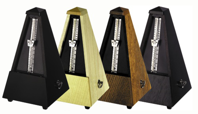Wittner Metronome Pyramid shaped