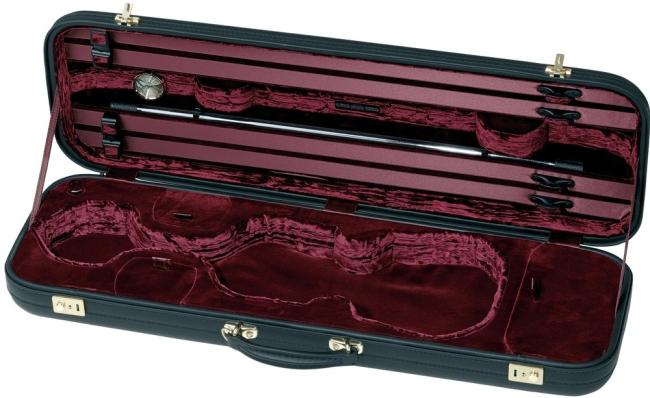 Original Jaeger Prestige Line Violin Case Oblong