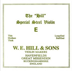 The Hill E (Ball End) - Violin
